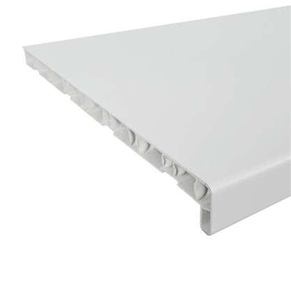 Подоконник ПВХ 1500х400 мм цвет белый