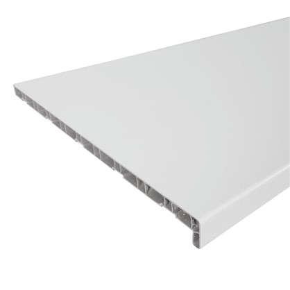 Подоконник ПВХ 2000х500 мм цвет белый