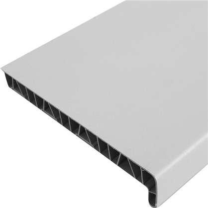 Подоконник пластиковый 200x1500 мм цвет белый