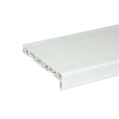 Подоконник пластиковый 200x3000 мм цвет белый