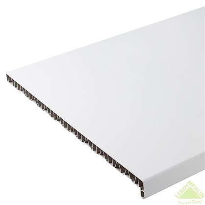 Подоконник пластиковый 500x1500 мм цвет белый