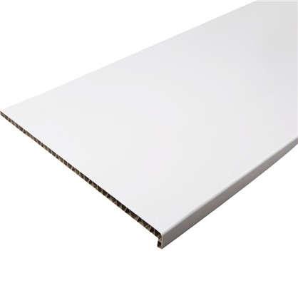 Подоконник пластиковый 500x3000 мм цвет белый