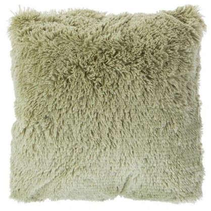 Подушка декоративная 40х40 см цвет зеленый