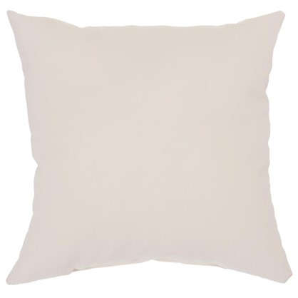 Подушка декоративная Классика 40х40 см цвет бежевый