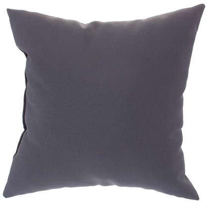 Подушка декоративная Однотон 40х40 см цвет серый