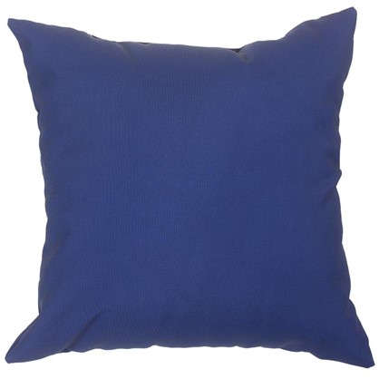 Подушка декоративная Природа 40х40 см цвет синий