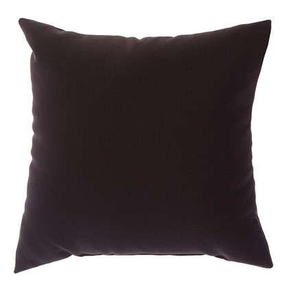 Подушка декоративная Радуга-234 40х40 см цвет темно-коричневый