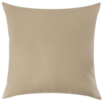 Подушка декоративная Радуга 40х40 см цвет кремовый