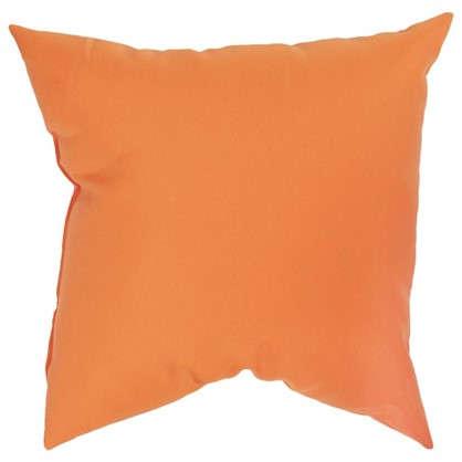 Подушка декоративная Радуга-716 40х40 см цвет оранжевый