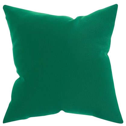 Подушка декоративная Шарм 40х40 см цвет зеленый
