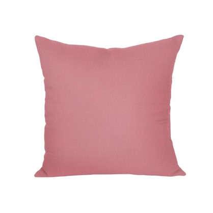Подушка для стула 40х40 см габардин цвет розовый