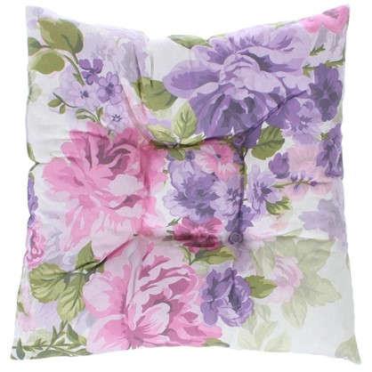 Подушка для стула Сиреневое поле 40х40 см цвет фиолетовый