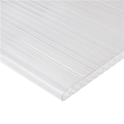 Поликарбонат сотовый Actual 4 мм лист 2.1x3 м (0.6 кг/м2) в