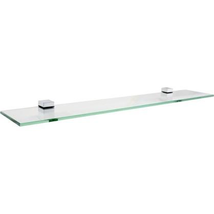 Полка для ванной комнаты 70х12 см стекло