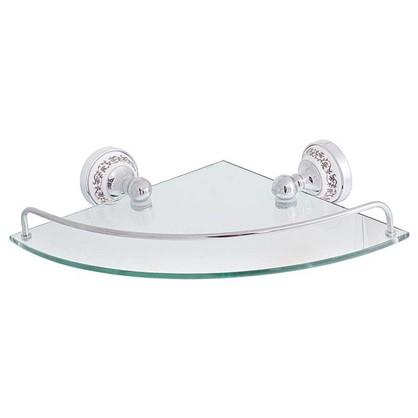 Полка для ванной комнаты Bogema латунь угловая
