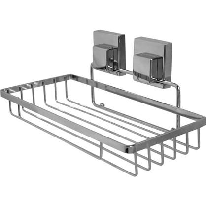 Полка для ванной комнаты Sensea Smart Lock на присоске металл