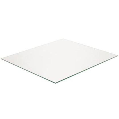 Полка прямоугольная 36.7х32 см прозрачное стекло