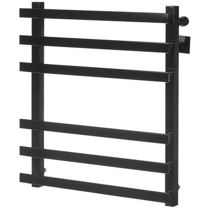 Полотенцесушитель водяной М81 60x50 см нержавеющая сталь цвет чёрный