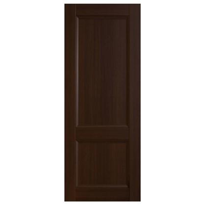 Полотно дверное глухое 3323 КД 21-8 танганика цвет натуральный с фурнитурой