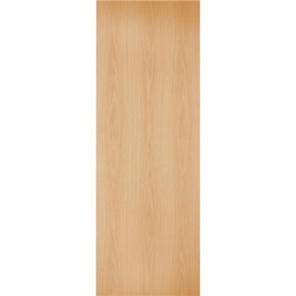 Полотно дверное глухое 70x200 см ламинация цвет миланский орех