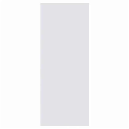 Полотно дверное глухое 90x200 см ламинация цвет белый