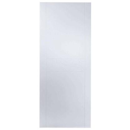 Полотно дверное глухое Аликанте 200х60 см цвет белый