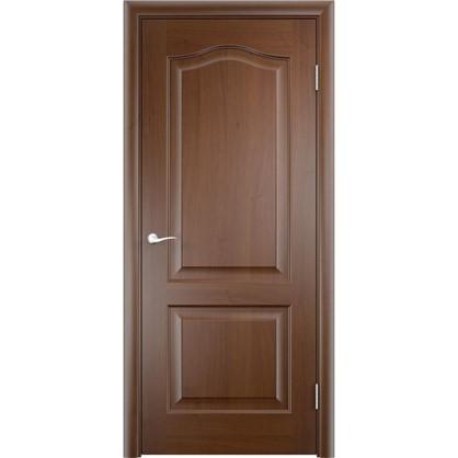 Полотно дверное глухое Антик 60x200 см ПВХ цвет дуб коньяк