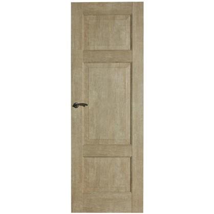 Полотно дверное глухое Антико 200х80 см цвет винтажный дуб