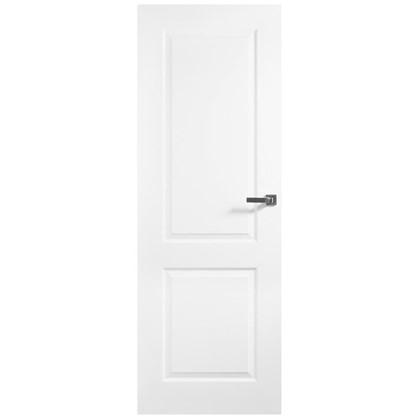 Полотно дверное глухое Австралия 200х70 см цвет белый