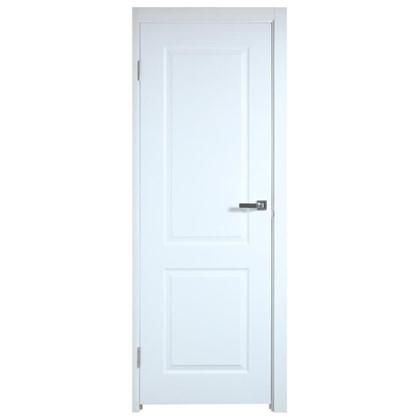 Полотно дверное глухое Австралия 200х80 см цвет белый