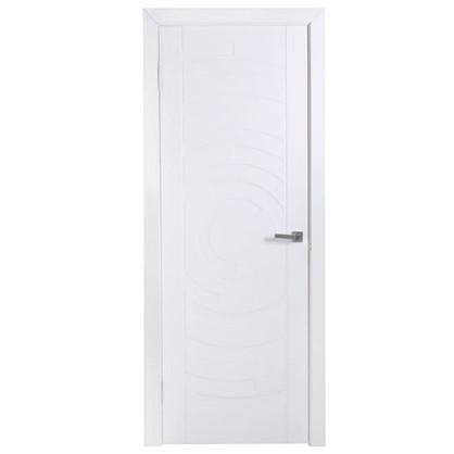 Полотно дверное глухое Галактика 200х70 см цвет белый