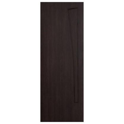 Полотно дверное глухое ламинированное Белеза 200x60 см цвет венге