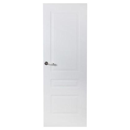 Полотно дверное глухое Роялти 200х90 см цвет белый