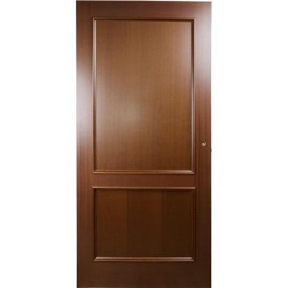 Полотно дверное глухое шпонированное Этерно 200x70 см цвет итальянский орех