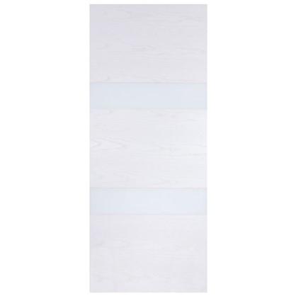 Полотно дверное глухое шпонированное Модерн 200х60 см цвет белый ясень
