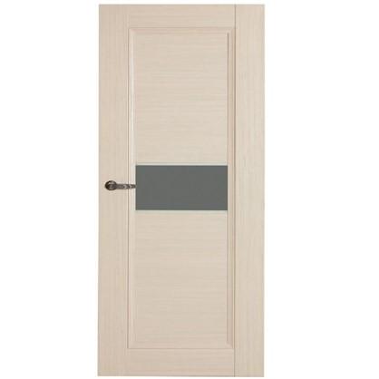Полотно дверное остеклённое Конкорд cpl 200х80 см цвет выбеленый дуб