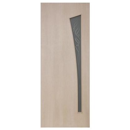Полотно дверное остеклённое ламинированное Белеза 200x70 см цвет белый дуб