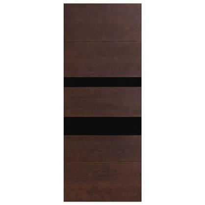Полотно дверное остеклённое шпонированное Модерн 200х70 см цвет антик