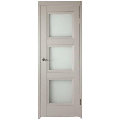 Полотно дверное остеклённое Трилло 200х70 см цвет ясень
