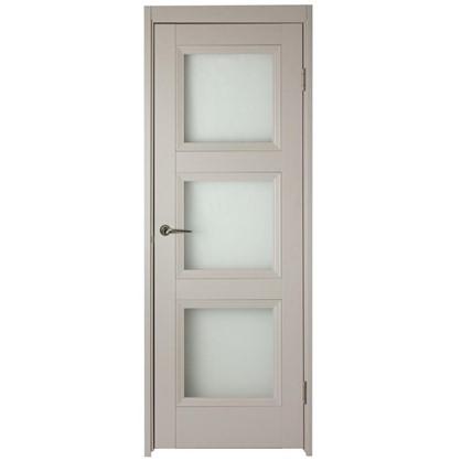 Полотно дверное остеклённое Трилло 200х90 см цвет ясень
