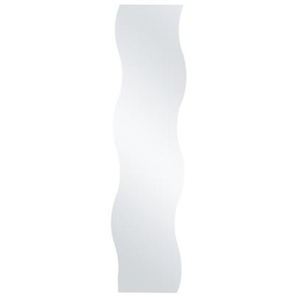 Полотно зеркальное прямоугольное Волна 30х120 см