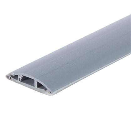 Порог одноуровневый (стык) самоклеящийся 0.9 м цвет серебро