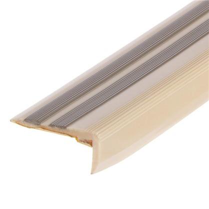 Порог угловой (угол) антискользящий 0.9 м цвет ольха
