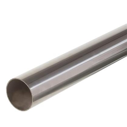 Поручень с заглушками 2 м нержавеющая сталь