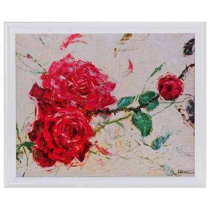 Постер в раме 40х50 см Дикие розы II