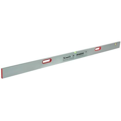 Правило алюминиевое с уровнем Matrix 2 м 2 ручки