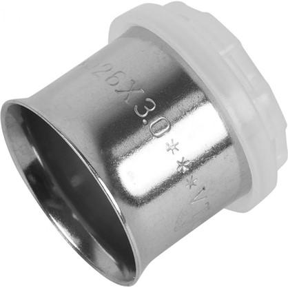 Пресс-гильза 26 мм никелированная латунь