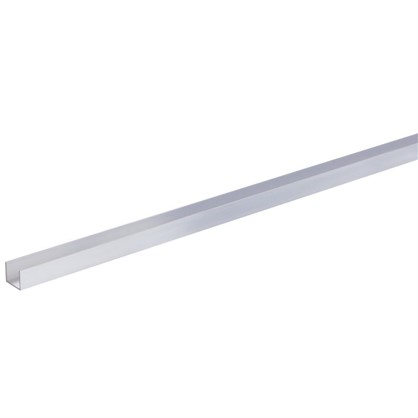 Профиль алюминиевый П-образный 25х30х25х2x2000 мм