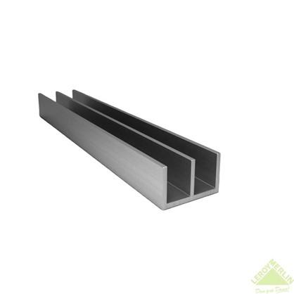 Профиль алюминиевый Ш-образный 265 2 м цвет серебро
