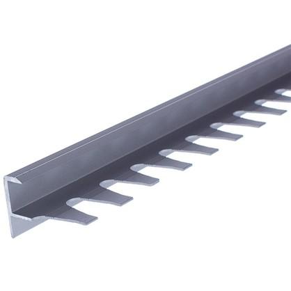 Профиль гибкий для ступений 270 см цвет серебро